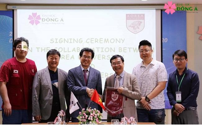 ĐH Đông Á hợp tác trao đổi sinh viên quốc tế với Đại học Korea, Hàn Quốc