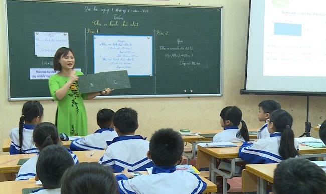 Đào tạo kiến thức là mục tiêu giáo dục tiểu học