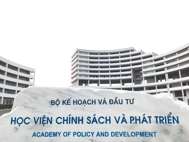 Học viện Chính sách và phát triển - trường xét tuyển ngành marketing
