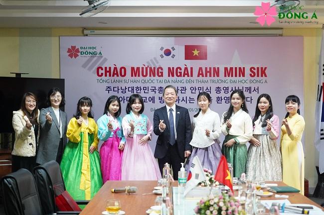 ĐH Đông Á thành lập Khoa ngôn ngữ và văn hóa Hàn Quốc