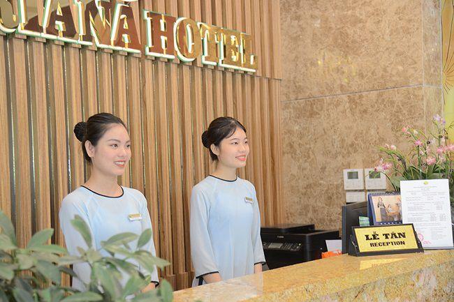 Lương lễ tân khách sạn 3 sao cơ bản khoảng tầm 4 - 5 triệu đồng/tháng