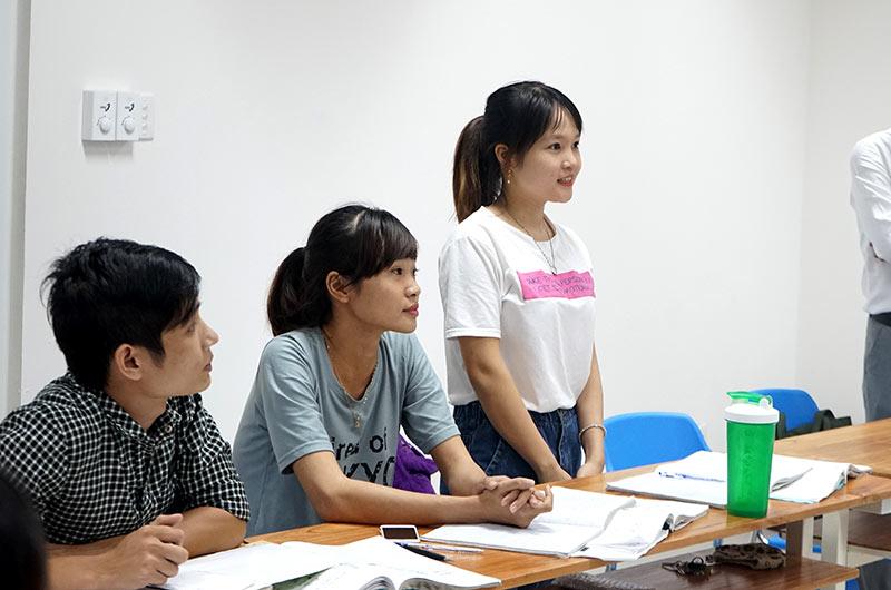 Môi trường học tập ngành ngôn ngữ Anh 09
