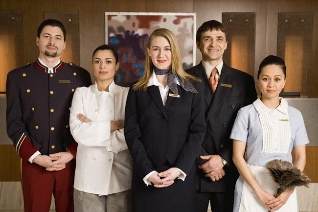 Học quản trị khách sạn làm việc tại các khách sạn