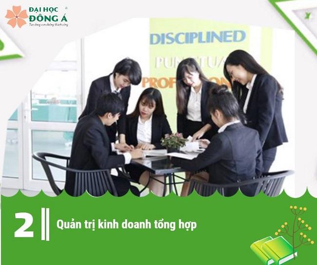 Chuyên ngành quản trị kinh doanh tổng hợp