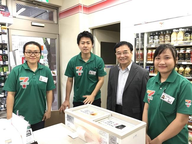 Các bạn SV ngành Marketing, khoa Quản trị ĐH Đông Á có cơ hội thực tập và làm việc tại chuỗi hệ thống 19.423 cửa hàng bán lẻ 7-Eleven tại Nhật