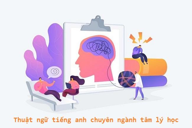 Thuật ngữ tiếng Anh chuyên ngành tâm lý học