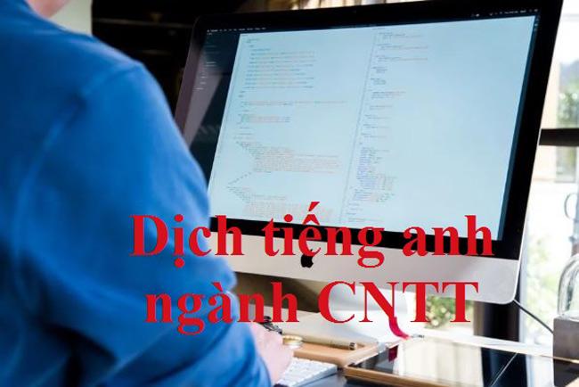 Gợi ý web dịch tiếng anh chuyên ngành công nghệ thông tin