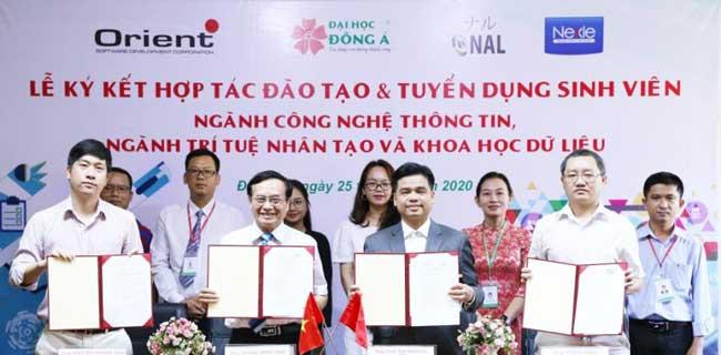 Trường đại học Đông Á ký kết hợp tác tạo cơ hội việc làm cho sinh viên ra trường