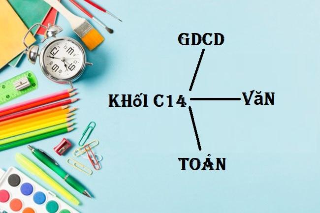 Các môn học thuộc khối C14