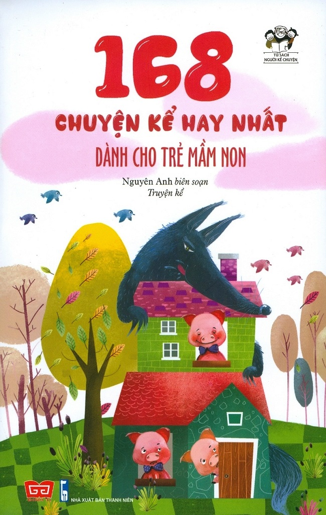 Cuốn sách 168 chuyện kể hay nhất dành cho trẻ mầm non