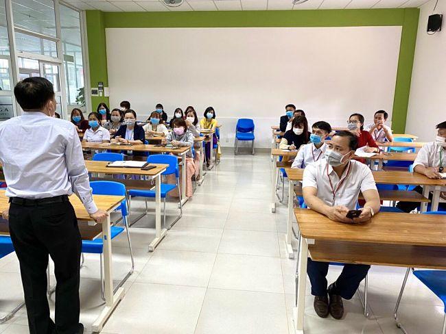 Chương trình đào tạo thực hành, gắn liền với nhu cầu của doanh nghiệp