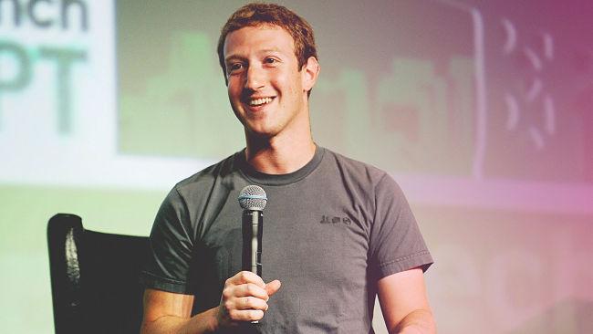 Lập trình viên Mark Zuckerberg