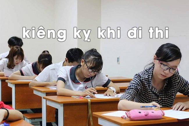 [Tiết lộ] Những điều kiêng kỵ trước khi đi thi bạn nên ghi nhớ