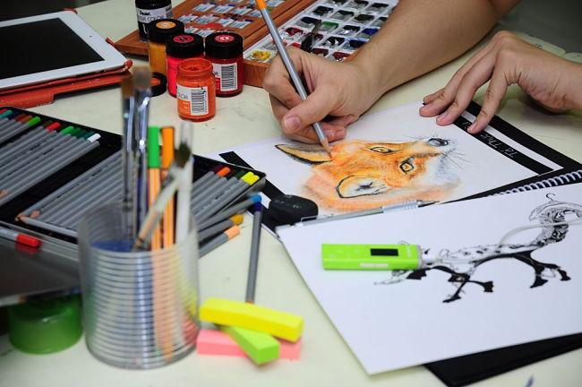 Học ngành thiết kế đồ họa thi khối nào