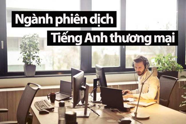 Thông dịch viên tiếng Anh thương mại