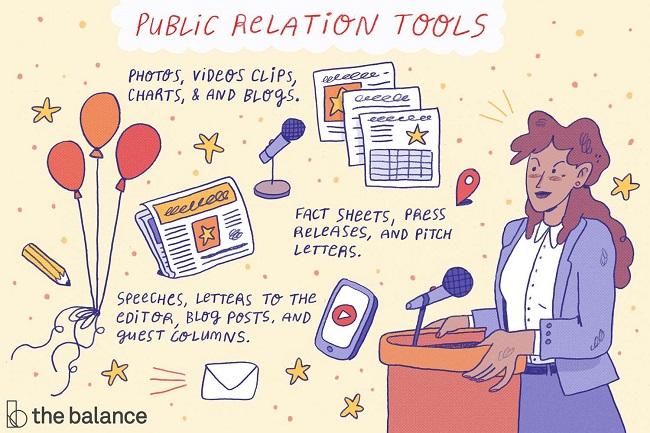 Quan hệ công chúng cũng đóng vai trò quan trọng trong quá trình Marketing - marketing gồm những mảng nào