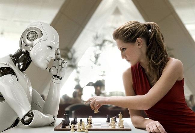 Robot thay thế con người trong một số công việc
