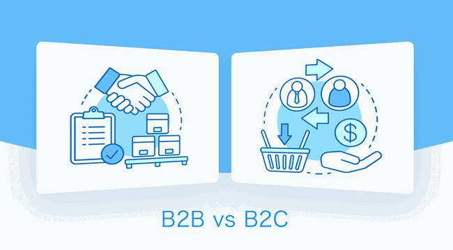 B2C có nhiều điểm khác biệt so với C2C