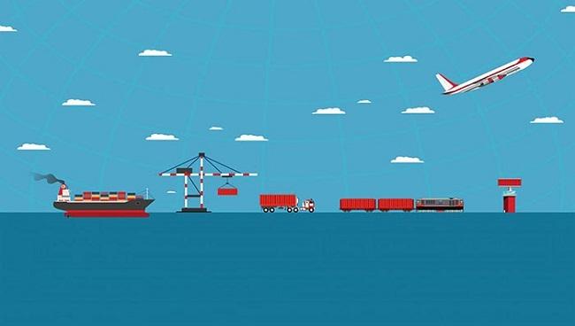 Logistics là khâu trung gian để vận chuyển hàng hóa từ cơ sở sản xuất đến tay khách hàng