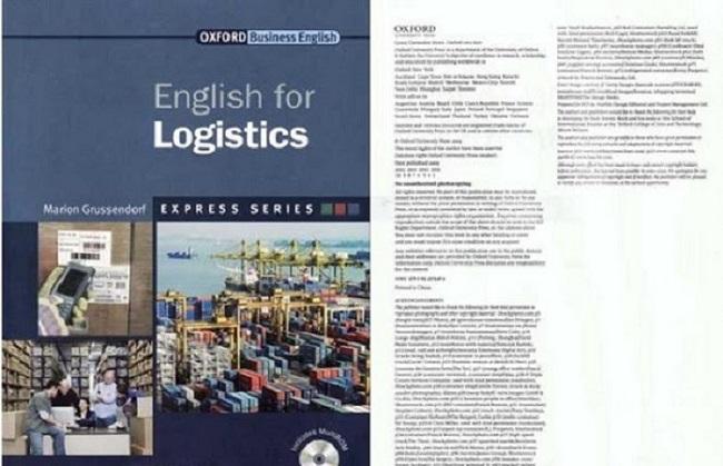 Cuốn sách này trình bày định nghĩa, khái niệm và các từ viết tắt thường gặp trong Logistics.
